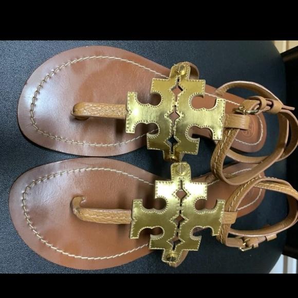 Tory Burch Shoes - Tory Burch Chandler logo sandals